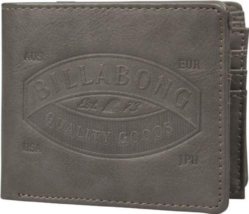 BILLABONG MENS WALLET.JUNCTION FAUX LEATHER GREY CARD COIN NOTE PURSE 8W M01 206